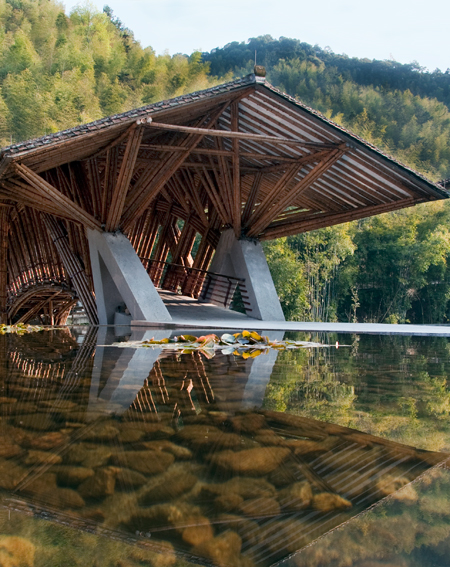 ASLA 2010 Professional General Design Honor Award. Crosswater's Ecolodge, Nankun Mountain Reserve, Guandong, China / EDSA