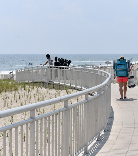 Rockaway Beach Protective Dunes / NYC Parks and Recreation