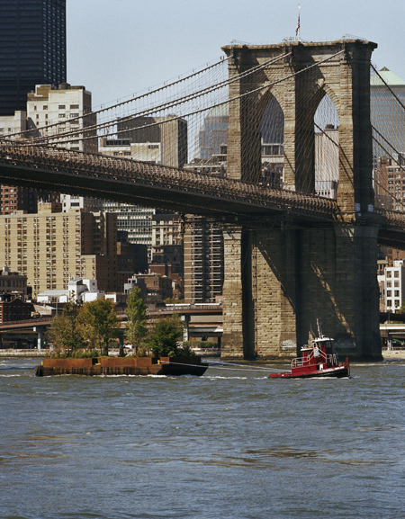 Floating Island Traveling Around Manhattan / Balmori Associates
