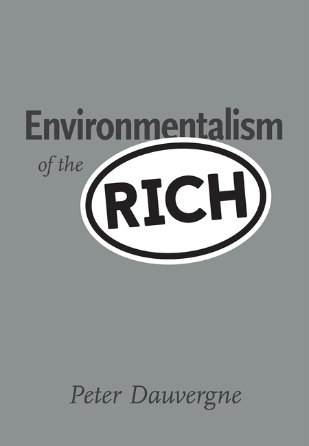 Environmentalism of the Rich / MIT Press