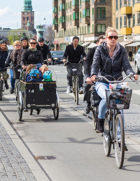 Copenhagen bicyclists / Citi.io