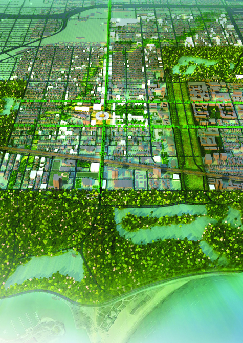 Proposal For Barack Obama Community Library On 63rd And South Cottage Grove Avenue A Birds Eye View From The With Jackson Park At Edge Of