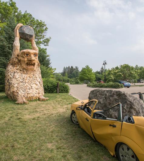 Trolls Invade Morton Arboretum