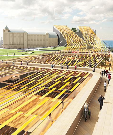 Design Competition: Public Art That Produces Energy