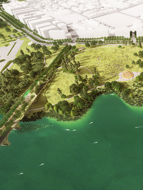 West 8 Wins Competition to Revitalize Baltimore's Waterfront