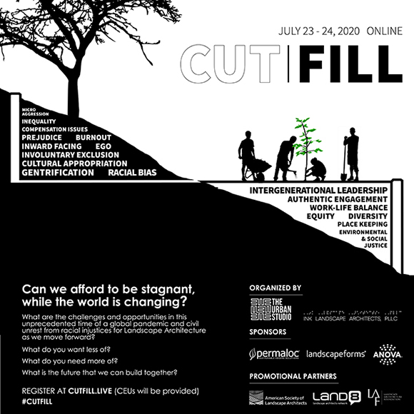CUT|FILL 2020: An Unconference on Landscape Architecture